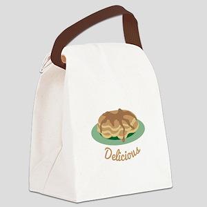 Delicious Pancakes Canvas Lunch Bag