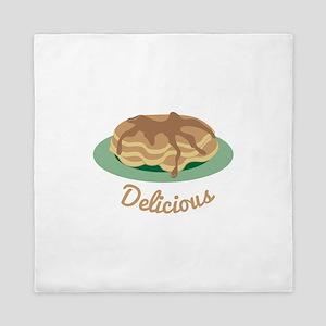 Delicious Pancakes Queen Duvet