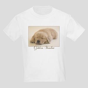 """""""Golden Retriever Slumber"""" Kids T-Shirt"""