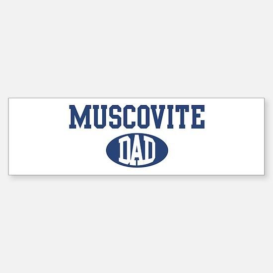 Muscovite dad Bumper Bumper Bumper Sticker