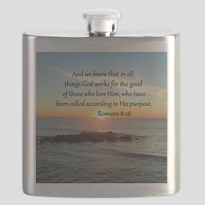 ROMANS 8:28 Flask