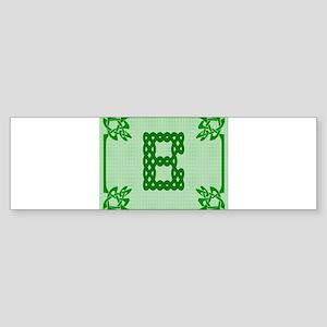 Celtic B Bumper Sticker