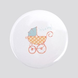 "Boy Announcement 3.5"" Button"