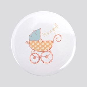 "Girl Announcement 3.5"" Button"