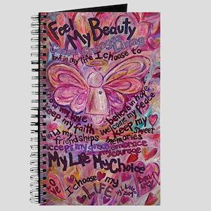 Pink Cancer Angel Journal