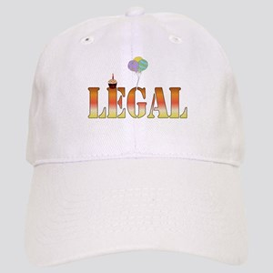 Finally Legal Birthday Cap