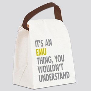 Its An Emu Thing Canvas Lunch Bag