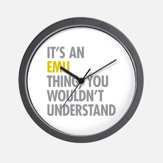 Its An Emu Thing Wall Clock