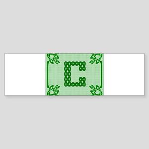 Celtic C Bumper Sticker