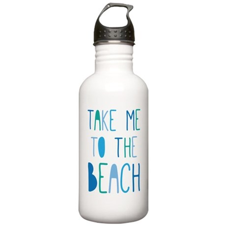 Take Me To The Beach Stainless Water Bottle 1.0L
