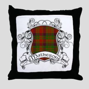 Matheson Tartan Shield Throw Pillow