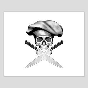 Chef skull: v2 Small Poster