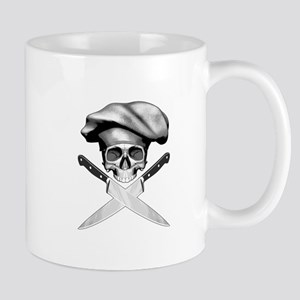 Chef skull: v2 Mug