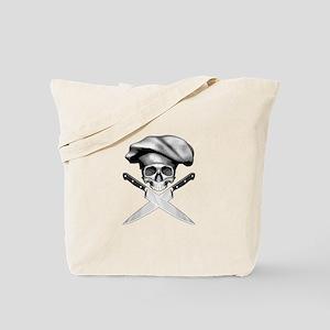 Chef skull: v2 Tote Bag