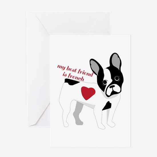 My Best Friend Greeting Cards