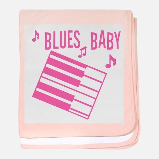 Blues Baby Baby Blanket