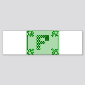 Celtic F Bumper Sticker