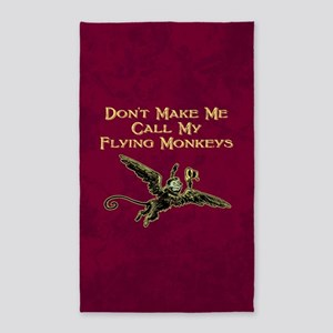 Call My Flying Monkeys Area Rug