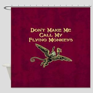 Call My Flying Monkeys Shower Curtain