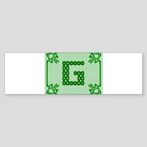 Celtic G Bumper Sticker