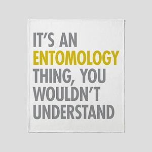 Its An Entomology Thing Throw Blanket