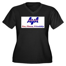 AVA Fun, Fitness, Friendship Plus Size T-Shirt