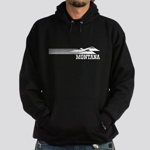 Retro Montana Mountains Hoodie