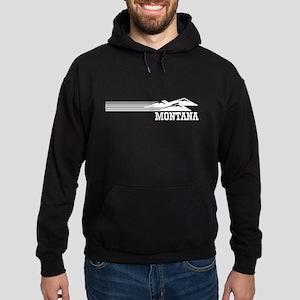 Retro Montana Mountains Hoodie