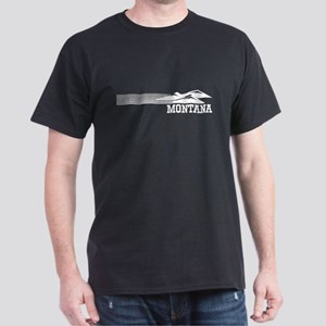 Retro Montana Mountains T-Shirt