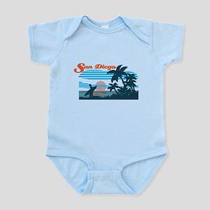 Retro San Diego Surf Body Suit