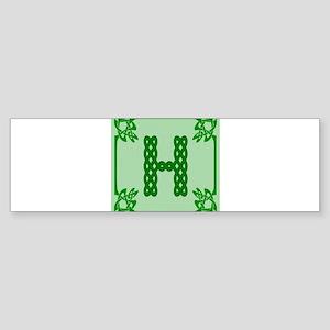 Celtic H Bumper Sticker