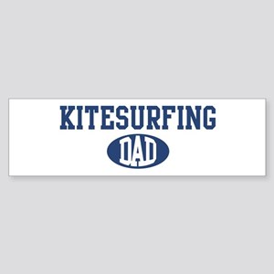 Kitesurfing dad Bumper Sticker