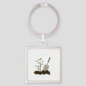 Tree Planting Keychains
