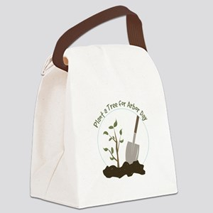 Arbor Day Canvas Lunch Bag