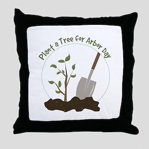 Arbor Day Throw Pillow