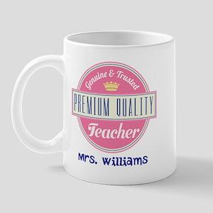 Teacher Vintage Personalized Mugs