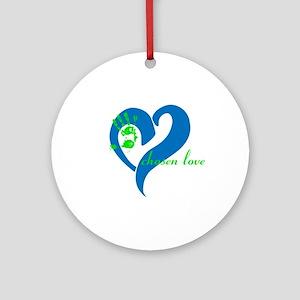 Chosen Love Ornament (round)