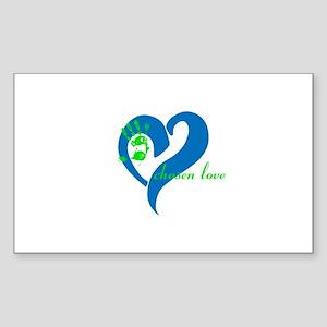 chosen love Sticker