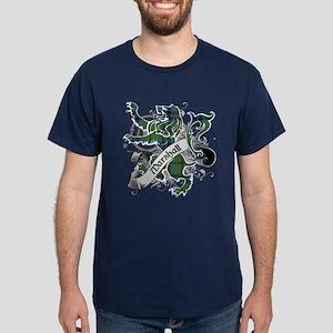 Marshall Tartan Lion Dark T-Shirt
