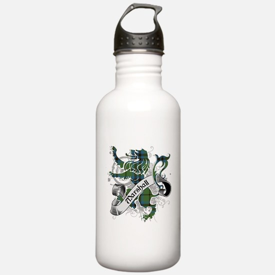 Marshall Tartan Lion Water Bottle