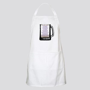 Beer Prayer BBQ Apron