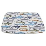 School of Sharks n Bathmat