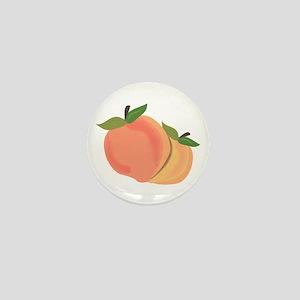Peaches Mini Button