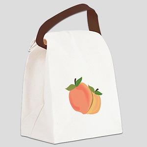 Peaches Canvas Lunch Bag