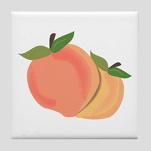 Peaches Tile Coaster