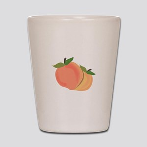 Peaches Shot Glass
