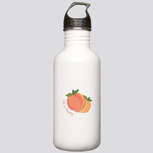 Life Is Peachy Water Bottle