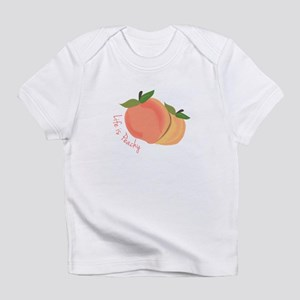 Life Is Peachy Infant T-Shirt