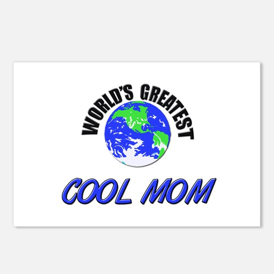 World's Greatest COOL MOM Postcards (Package of 8)