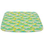 Yellowtail Snapper fish pattern12b Bathmat